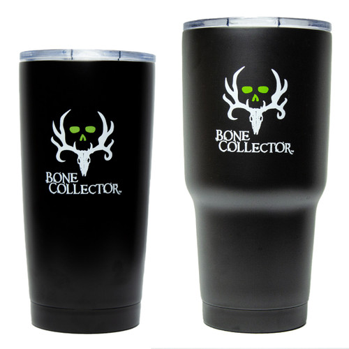 Bone Collector Insulated Tumbler 2 pack Black
