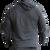 Men's BC Black/Charcoal Scripted LTWT Hoodie