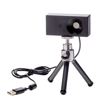 Finally, there's an easier and more effective way to teach visible light spectra to your physics, chemistry, and astronomy students. The RSpec Explorer spectroscope is designed for demonstrating spectral sources (such as gas tubes), and for measuring the spectra of a wide range of light sources, including LEDs, street lamps, and others.