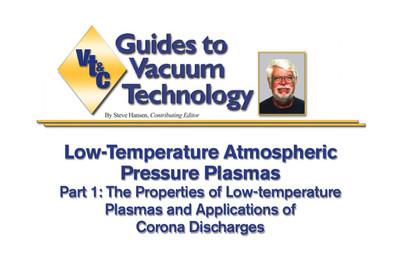 Featured Article: Low-Temperature Atmospheric Pressure Plasmas