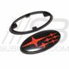 2015+ WRX/STI Grill/Trunk Star Emblem Badge Set W/ Trim Ring