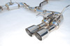 Invidia R400 Gemini Cat-Back Exhaust System (2015+ WRX/STI)