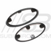 2011-2014 WRX/STI Sedan Grill/Trunk Star Emblem Badge Set W/ Trim Ring