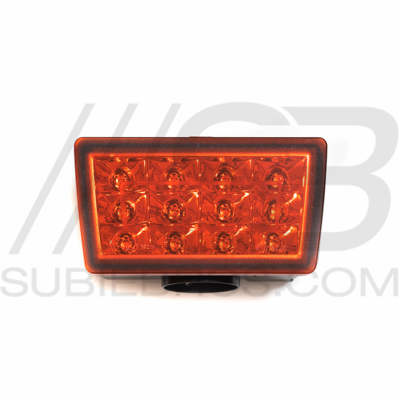 F1 Style LED Rear Fog Light (Red, Clear/Red, Smoked, Matte Black) on