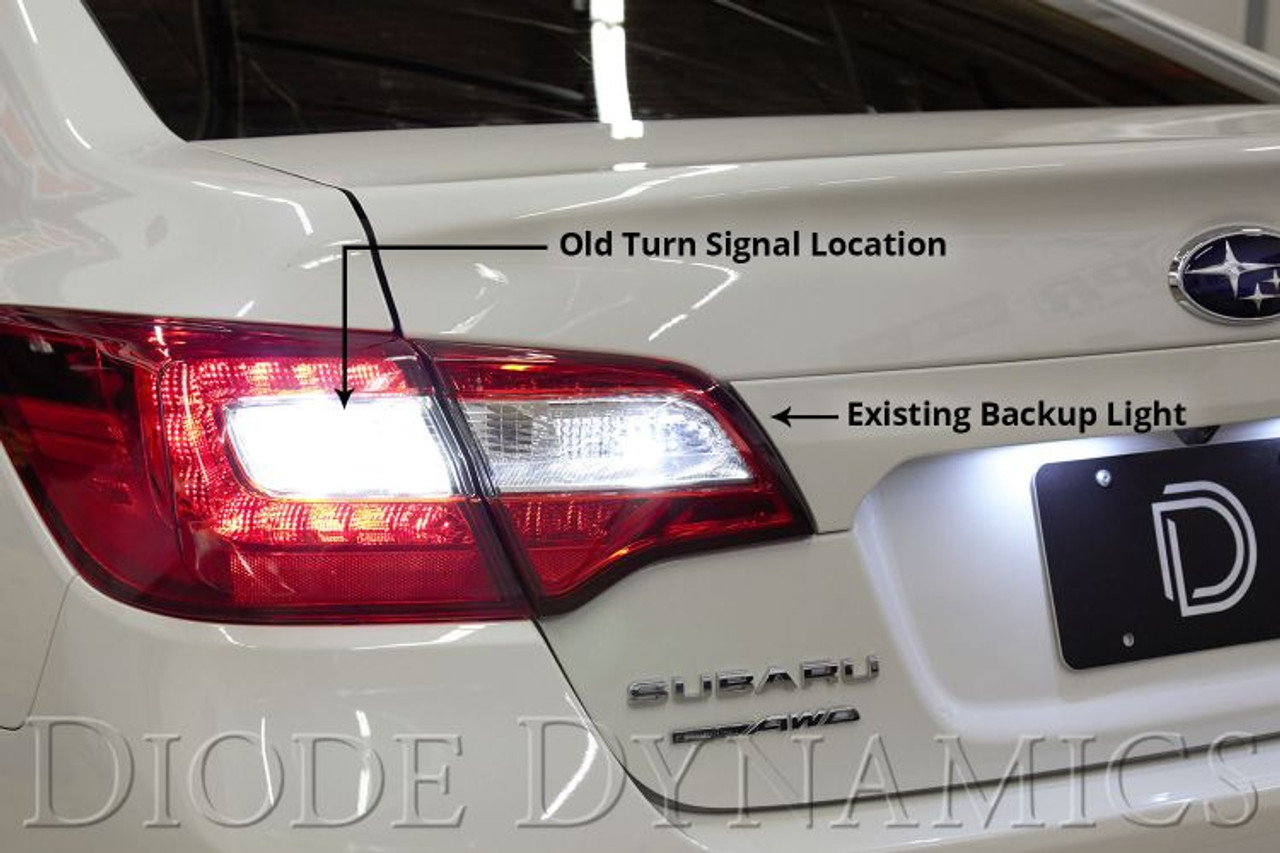 Stage 1 Backup LED Module compatible with Subaru WRX//Sti 2015-2020 Diode Dynamics Tail as Turn