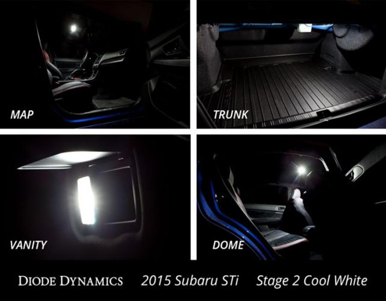 Diode Dynamics Interior LED Conversion Kit for 2015-2019 Subaru WRX STi