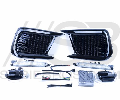 2018+ WRX/STI Subaru OEM JDM LED Bezels