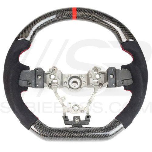 Subie Bros Carbon Fiber Steering Wheel (2015+ WRX/STI)