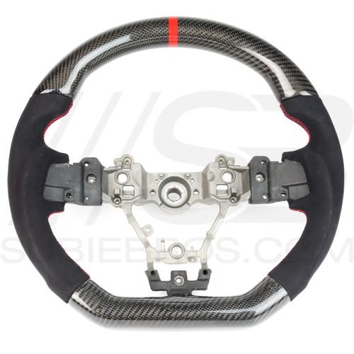 Subie Bros Carbon Fiber Steering Wheel (2015+ WRX/STI)
