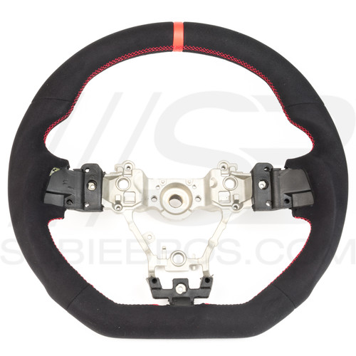 Subie Bros Alcantara Steering Wheel