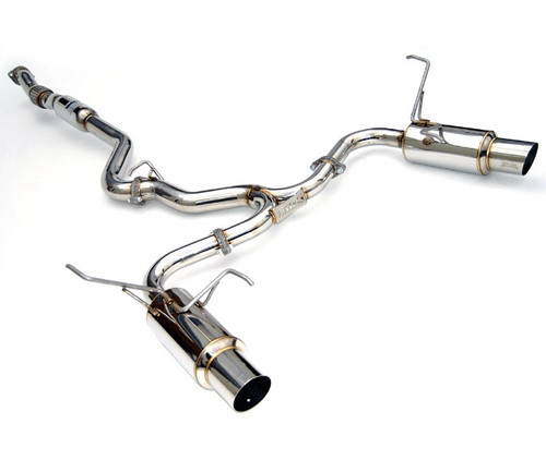 Invidia N1 Cat Back Exhaust Dual Stainless or Burnt Tip  (2015+ WRX/STI)