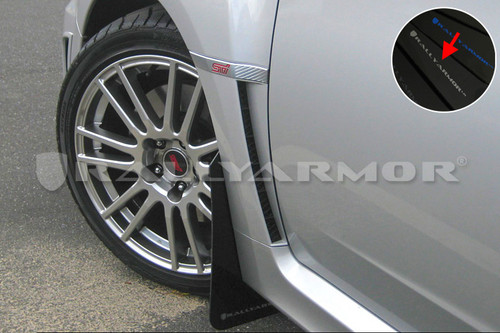 Rally Armor Mud Flaps 2011-2014 WRX/STI (Multiple Colors)