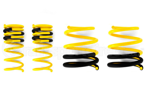 Racecomp Engineering Yellow Lowering Springs (2015+ WRX/STI)