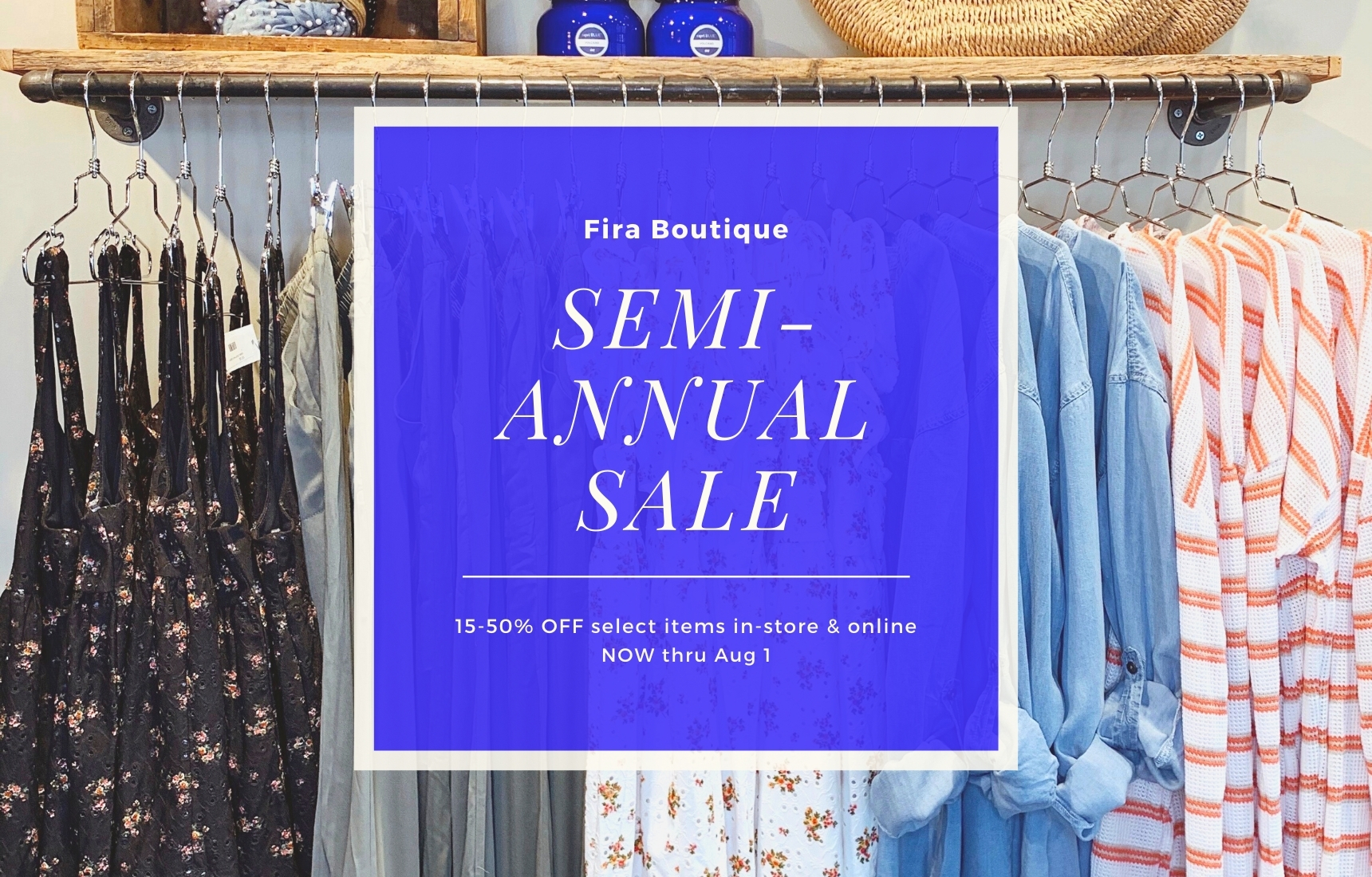 Semi-Annual Sale! Save up to 50% OFF Now!