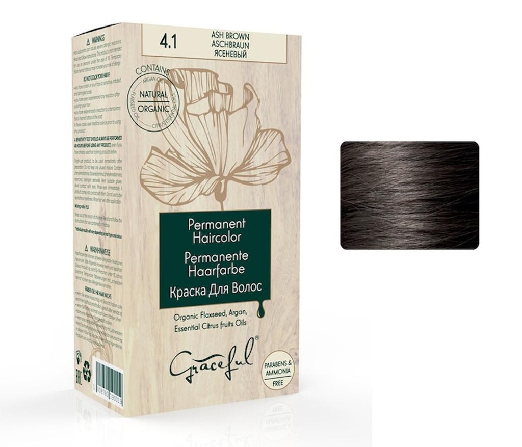4.1 Ash Brown Graceful Hair Colour