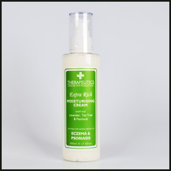 Extra Rich Moisturising Cream Suitable for people prone to Eczema & Psoriasis 200ML