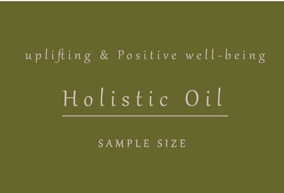 Holistic Facial Oil ( natural retinol)  3ml Sample
