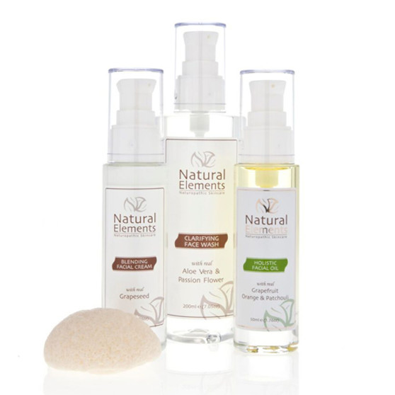 Holistic WOW Kit Comb 4 piece for oily/comb skin, quick cell turnover, natural retinol alternative, to freshen the skin.