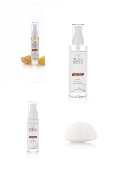 Dry Skin / Menopause Wow Kit  with recovery oil & face wash/sponge