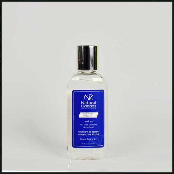 Purifying Hand Gel kills 99.9% of bacteria  75ml