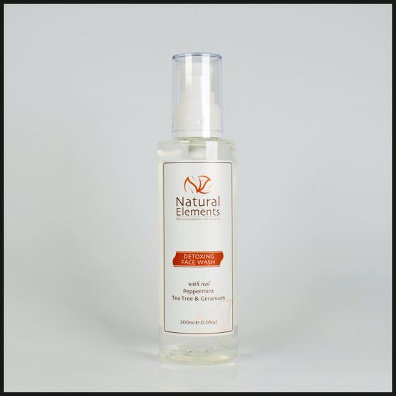 NES001 Detoxing Face Wash for oily spot acne prone skin (200ml e 7.05oz)