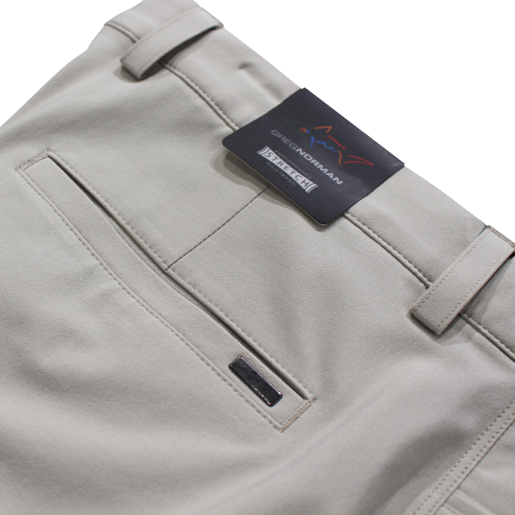 ML75 Microlux Stretch Pant waistband logo detail