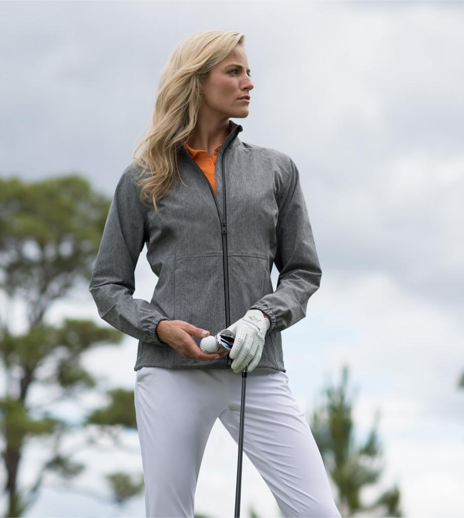 Full Zip Windbreaker Stretch Jacket