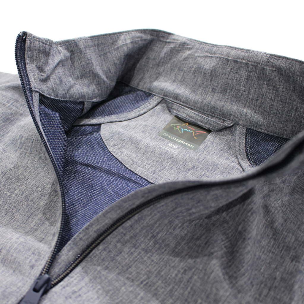 Full-Zip Windbreaker Stretch Jacket detail product shot