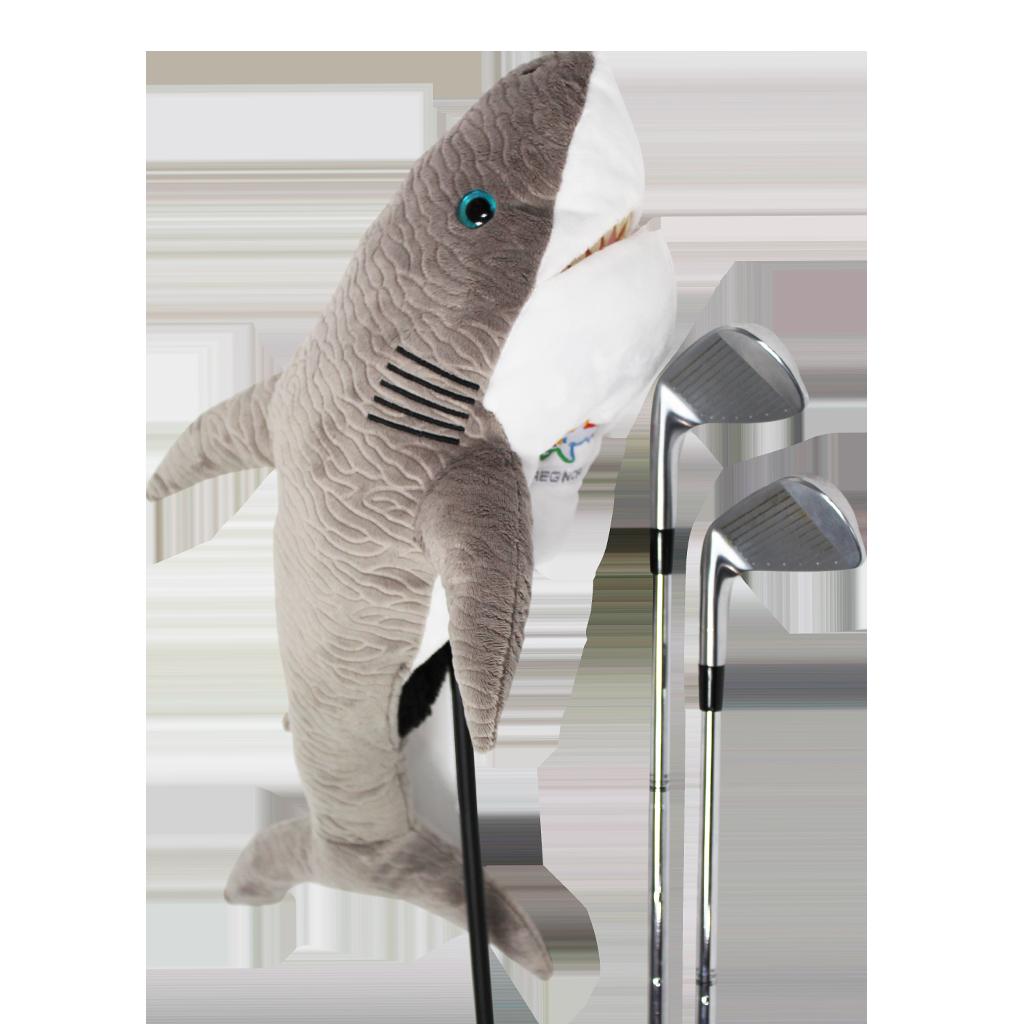 Shark golf headcover
