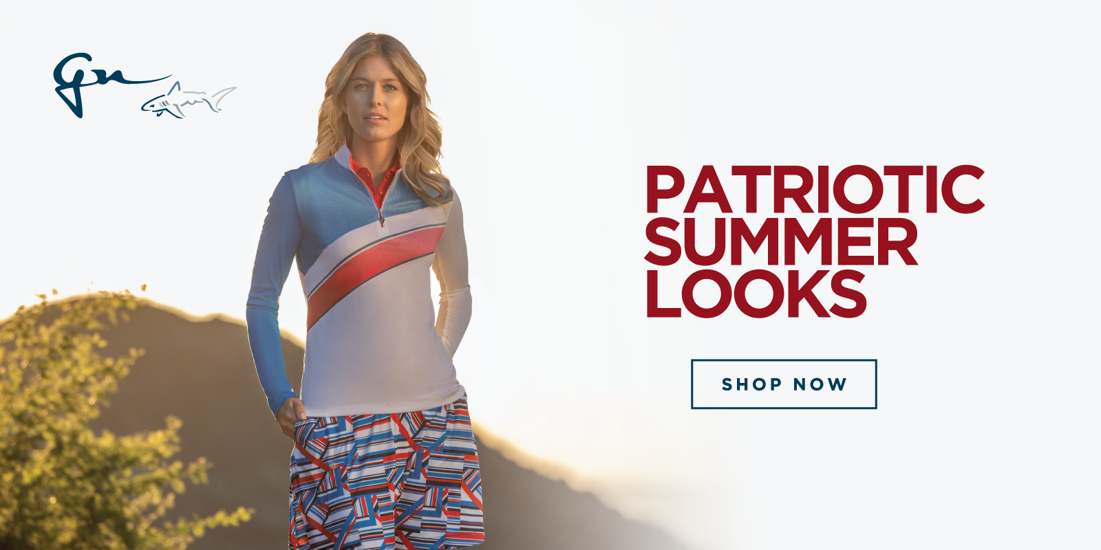 Patriotic Summer Looks Shop Now