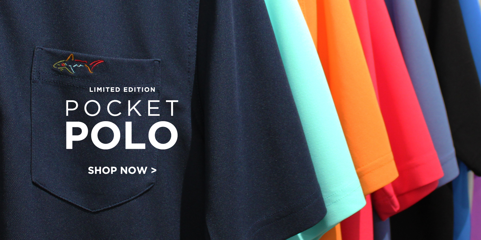 Limited Edition Pocket Polo Shop Now