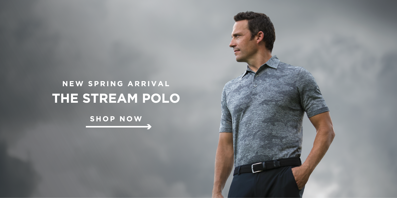 New Spring Arrival The Stream Polo Shop Now