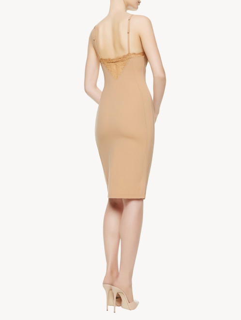 Slipdress in Nude