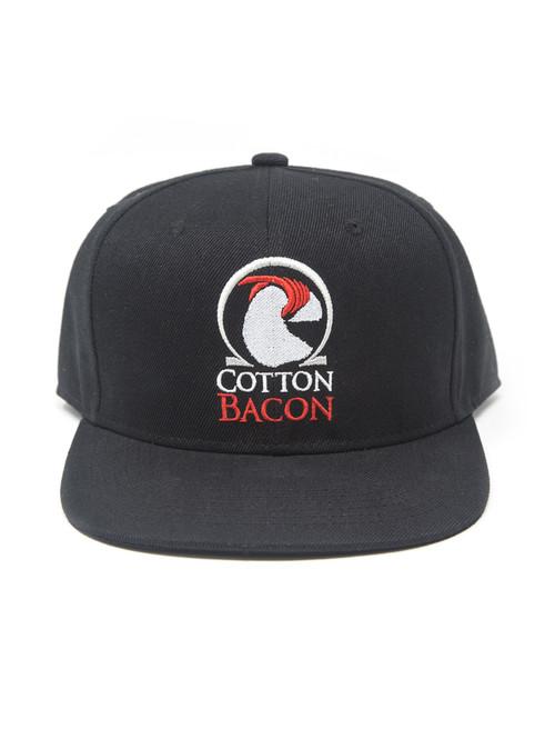 6aaf0275a46c6 Cotton Bacon Snapback Hat - Wick N Vape