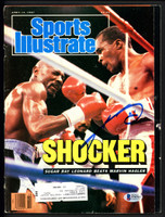 Beckett Authentication Floyd Mayweather Jr Autographed Sports Illustrated Magazine No Label Beckett BAS #S76777