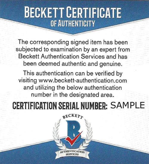 Pittsburgh Steelers Antonio Brown Autographed Black Jersey Beckett BAS 33de2b3b1