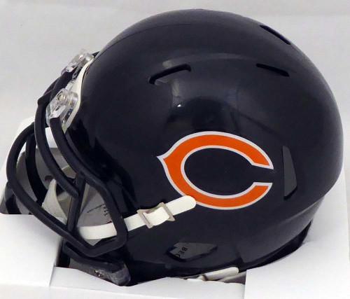 check out 601a2 8b336 Khalil Mack Autographed Chicago Bears Mini Helmet Beckett BAS