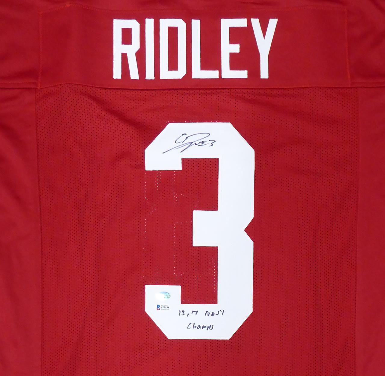 Calvin Ridley Alabama Crimson Tide Football Jersey-Red