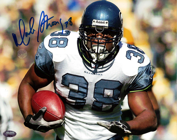 Seahawks Mack MCS 8x10 Autographed  Seattle Strong Photo