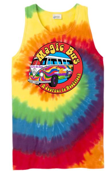 Magic Bus Unisex Tie Dye Tank