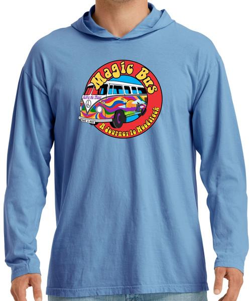 Magic Bus Blue Lightweight Hoodie
