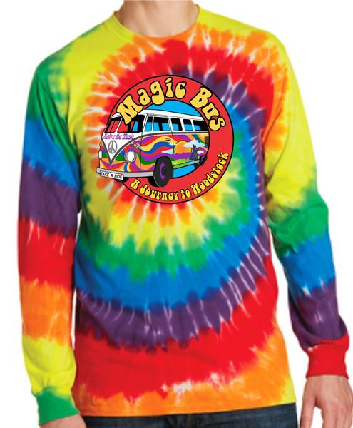 Magic Bus Tie Dye LS T Shirt