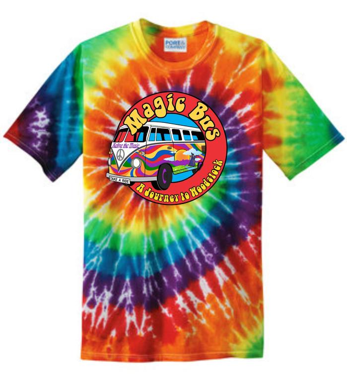 Magic Bus Tie Dye T Shirt