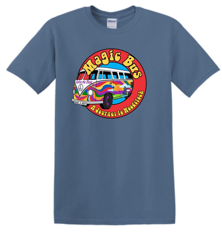 Magic Bus Indigo T Shirt