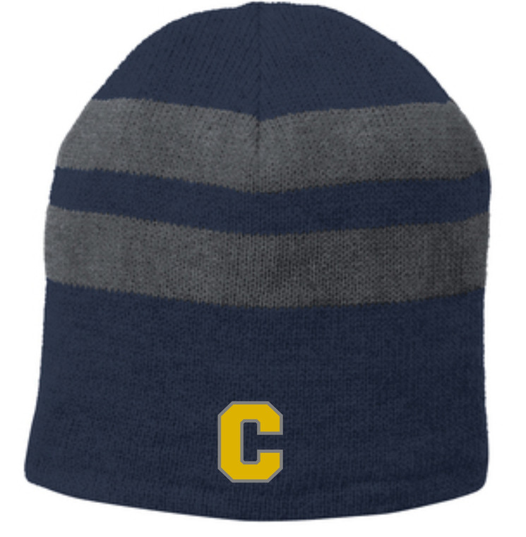 Clarkston Fleece Lined Striped Beanie