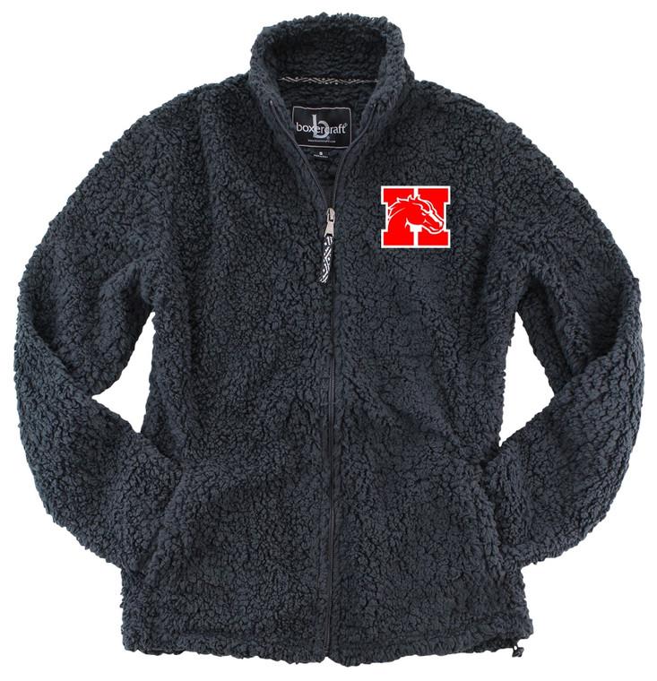 Holly Full Zip Sherpa Jacket