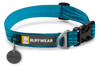 Ruffwear Dog Collar - Hoopie - Pacific Blue