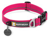 Ruffwear Dog Collar - Hoopie - Wild Berry