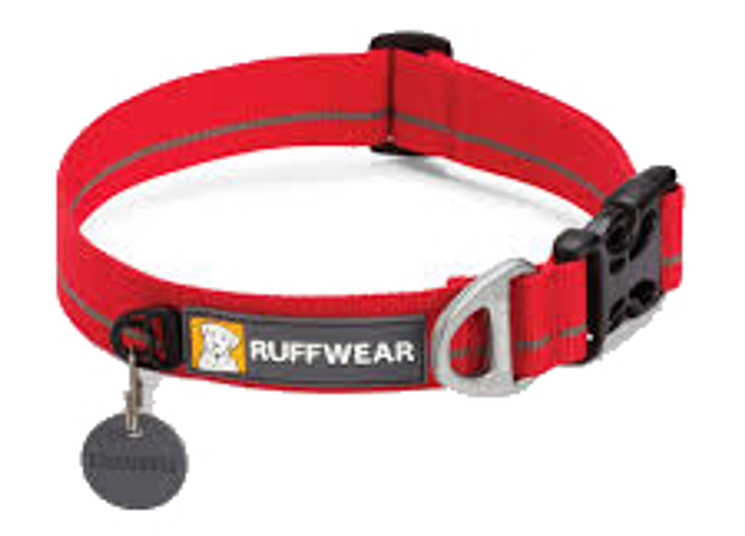Ruffwear Dog Collar - Hoopie - Red Currant
