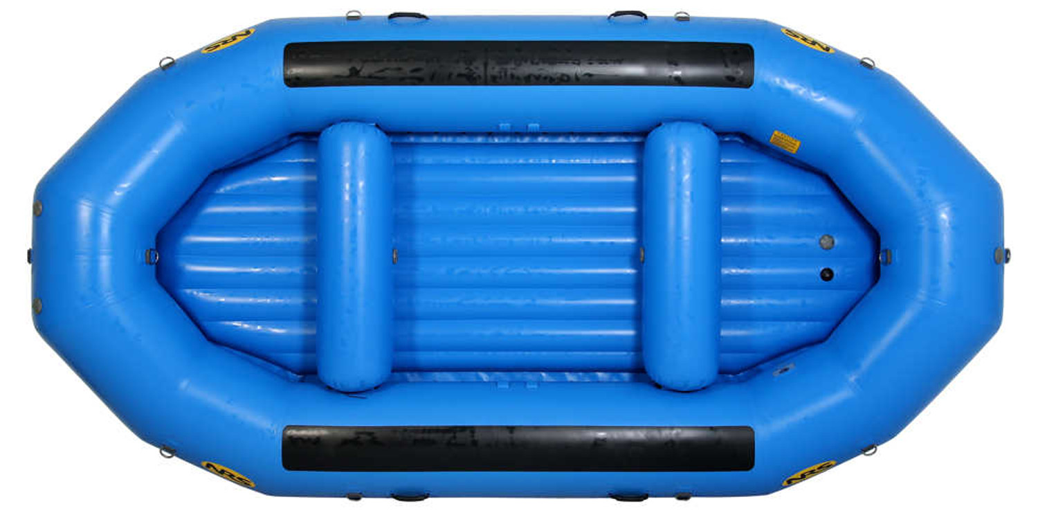 NRS Otter 140 Self Bailing Raft - Blue Top